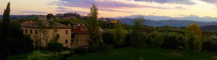 Agriturismo en kleine camping Villa Bussola