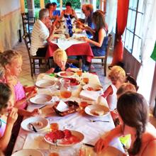 Villa Bussola services diner