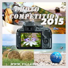 Villa Bussola services fotowedstrijd