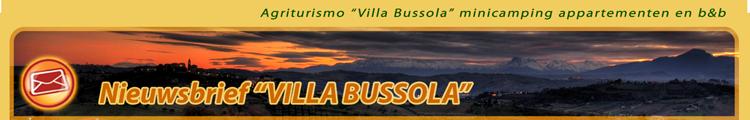 Villa Bussola Nieuwsbrief