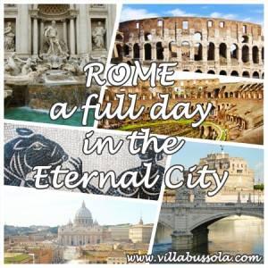 Rome in een dag arrangement