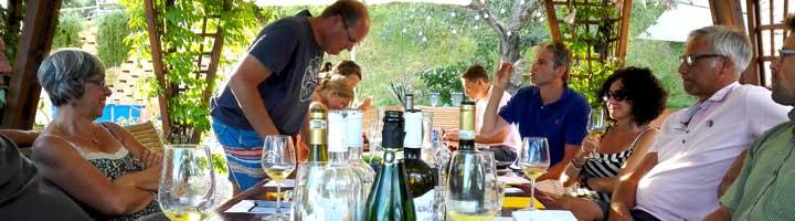 Wijnproeverij. Vakantieaccommodaties Agriturismo en kleine camping Villa Bussola is een vakantieadres waar u uiterst gastvrij ontvangen wordt in een prachtige, rustige omgeving. Of u nu de voorkeur geeft aan kamperen met de tent, een B&B kamer of een self-catering vakantie appartement wilt huren, het kan allemaal op onze agriturismo in Le Marche, in midden Italië
