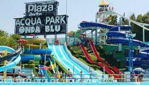 Waterpretpark tienerpret bij Villa Bussola