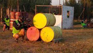 Paintbal tienerpret bij Villa Bussola