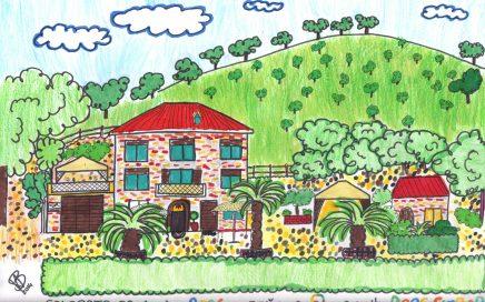 Kinderschoolvakantie. Vakantieaccommodaties Agriturismo en kleine camping Villa Bussola is een vakantieadres waar u uiterst gastvrij ontvangen wordt in een prachtige, rustige omgeving. Of u nu de voorkeur geeft aan kamperen met de tent, een B&B kamer of een self-catering vakantie appartement wilt huren, het kan allemaal op onze agriturismo in Le Marche, in midden Italië